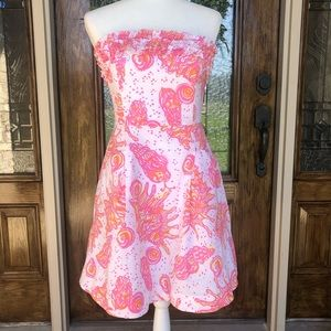 Lilly Pulitzer Ferra Conched Out Dress